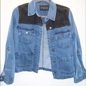 Who What Wear Corduroy Denim Jacket Size Small
